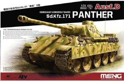 MENG by Squadron Sd.Kfz.171 Panther Ausf.D Deca, LIST PRICE $14.99