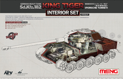 MENG by Squadron King Tiger Sd.KfZ.182 Decal:35, LIST PRICE $14.99