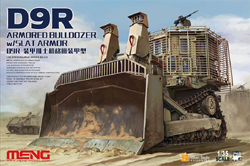 MENG by Squadron D9R D00B1 ARMORED BULDOZER :35, LIST PRICE $89.99