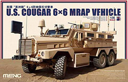 MENG by Squadron Mrap Cougar 6x6 Vehicle 1:35, LIST PRICE $92.99