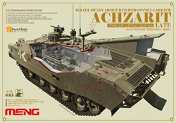 MENG by Squadron Israeli AchZarit late 1:35, LIST PRICE $84.99