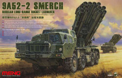 MENG by Squadron 9A52-2 Smerch Rocket Launch:35, LIST PRICE $195.45