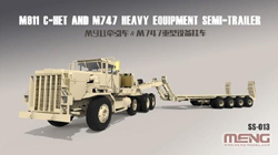 MENG by Squadron US M911 C-Het & M747 Semi 1:35, LIST PRICE $220.99