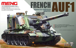 MENG by Squadron FRENCH AUF1 155mm HOWITZER :35, LIST PRICE $89.99