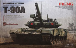 MENG by Squadron T-90A RUSSIAN MBT 1:35, LIST PRICE $69.99
