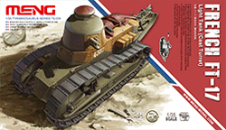 MENG by Squadron FRENCH FT-17 LIGHT TANK 1:35, LIST PRICE $69.99