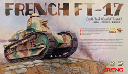 MENG by Squadron FRENCH FT-17 Riveted Turret:35, LIST PRICE $40