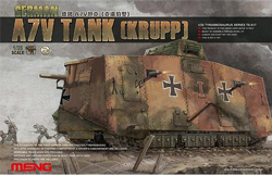 MENG by Squadron German Ww-I A7V Tank 1:35, LIST PRICE $90