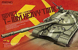 MENG by Squadron Soviet T-10M Heavy Tank 1:35, LIST PRICE $89.99