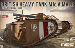 MENG by Squadron British Heavy Tank Mk.V Male, LIST PRICE $105.99