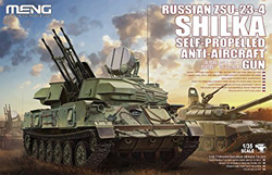 MENG by Squadron Russian Zsu-23-4 Shilka 1:35, LIST PRICE $89.99
