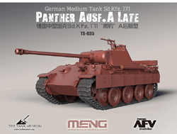 MENG by Squadron Panther Ausf A. Late 1:35, LIST PRICE $56.99