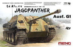 MENG by Squadron Sd.Kfz.173 Jagdpanther G1 1:35, LIST PRICE $56.99