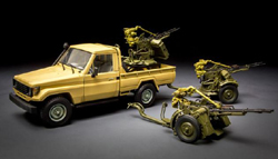 MENG by Squadron PICK UP W/zpu-2 1:35, LIST PRICE $39.99
