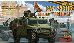 MENG by Squadron Russian GaZ 233115 Tiger-M :35, LIST PRICE $47.99