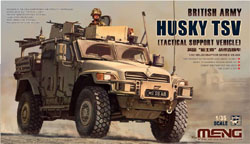 MENG by Squadron British Army Husky TSV 1:35, LIST PRICE $56.99