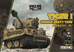 MENG by Squadron German Hvy Tank Tiger I Toons, LIST PRICE $12.99