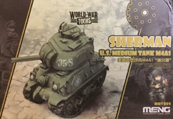 MENG by Squadron Us Med Tank M4A1 Sherman Tank, LIST PRICE $7.99