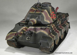 MENG by Squadron Ger Toon Tank King Tiger, LIST PRICE $12.99