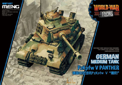 MENG by Squadron German Med Tank Panther, LIST PRICE $18.99