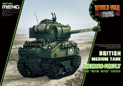 MENG by Squadron Brit Sherman Firefly War Toons, LIST PRICE $18.99