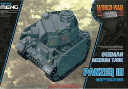 MENG by Squadron German Light Panzer 38t Toons, LIST PRICE $18.99