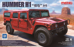 MENG by Squadron Hummer H1 1:24, LIST PRICE $96.99