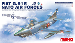 MENG by Squadron Fiat G.91R Nato Air Forces :72, LIST PRICE $41.99