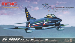MENG by Squadron G.91R LIGHT FIGHTER BOMBER :72, LIST PRICE $39.99