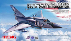 MENG by Squadron F-106A Delta Dart Inter 1:72, LIST PRICE $58