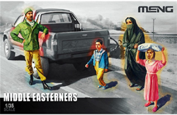 MENG by Squadron MIDDLE EASTERNERS FIGURES 1:35, LIST PRICE $16.99