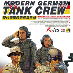 MENG by Squadron Modern German Tank Crew 1:35, LIST PRICE $18.99