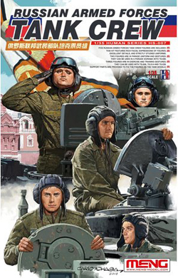 MENG by Squadron Russian Af Tank Crew 1:35, LIST PRICE $18.99