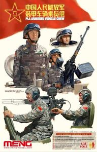 MENG by Squadron Pla Armored Vehicle Crew 1:35, LIST PRICE $19