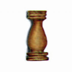 MODEL SHIPWAY 12mm WALNUT STANCHIONS , LIST PRICE $3.8