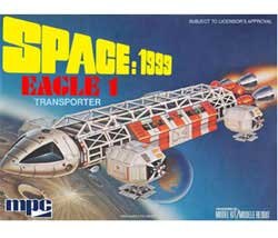 MPC Space 1999 Eagle 1 1:72, LIST PRICE $31.25