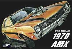 MPC 1970 AMC AMX 1:20, LIST PRICE $33.19