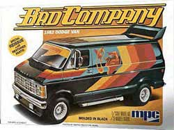 MPC 1982 DODGE VAN 1:25, LIST PRICE $33.19