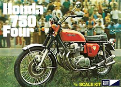 MPC Honda 750 Four Motorcycle, LIST PRICE $45.79