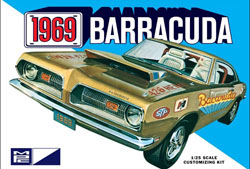 MPC 1969 Plymouth Barracuda, LIST PRICE $30.99