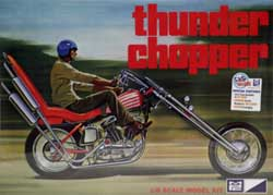 MPC Thunder Chopper Custom Motorcycle, LIST PRICE $45.79