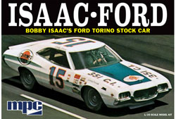 MPC 1:25 1972 FORD TORINO STOCKCAR, LIST PRICE $27.99