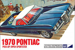 MPC 1970 Bonneville Convertible/Pickup, LIST PRICE $29.79