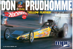 """MPC MPC Don Snake Prudhomme """"Yellow Feather"""" Dragster 1972 Top F, LIST PRICE $35.49"""