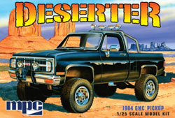 MPC 1:25 1984 GMC PICKUP BLACK, LIST PRICE $26.99