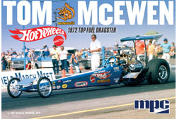 MPC MPC 1972 Top fuel dragster Tom McEwen (The Mongoose), LIST PRICE $32.09