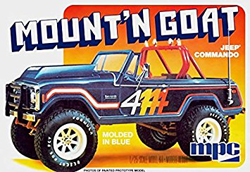 MPC Jeep Commando Mount'n Goat 1:25, LIST PRICE $33.75