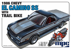 MPC 1986 Chevy El Camino SS w/Dirt Bike, DUE 2/28/2018, LIST PRICE $33.19