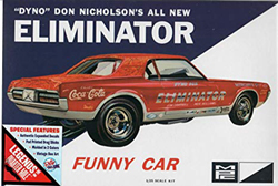 MPC Dyno Don Cougar Elim Funny Car, LIST PRICE $37.5