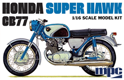 MPC 1/16 Honda Super Hawk Motorcycle, DUE 6/30/2018, LIST PRICE $26.99